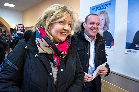 election legislative partielle doubs sophie montel premier tour